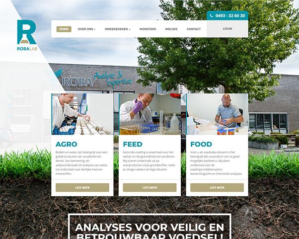 Nieuwe website Robalab door RenewMyID