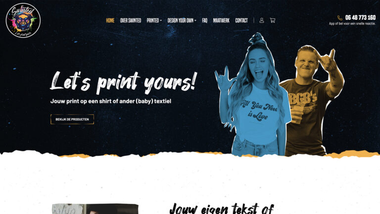 Swinted website